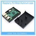 Новый Raspberry Pi Черный Алюминиевый корпус Металлический Ящик с Радиатором Функции Для Raspberry Pi 2 & Raspberry Pi model b плюс и 3 RP0013B