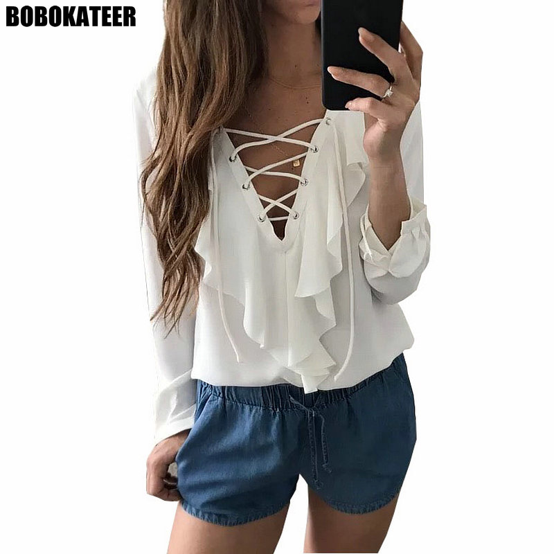 f5d2c86e7f3147 top 10 most popular blusa chemise branca brands and get free ...