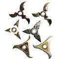 11 Estilos Clássico Dardos Armas Cosplay Metal OW OW Genji Shurikens 9 cm Cosplay Chaveiros Acessórios crianças Frete Grátis