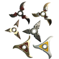 11 Styles Classic OW Weapons Cosplay Metal OW Darts Genji Shurikens 9cm Cosplay Keychains Accessories kids Free Shipping