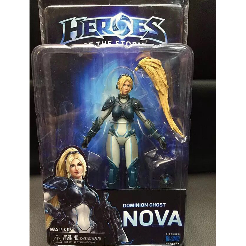 NECA Heroes of The Storm Dominion Ghost NOVA PVC Action Figure Collectible Model Toy 15cm KT1893 legion illidan heroes of the storm pvc action figure collectible model toy 7 18cm kt1816