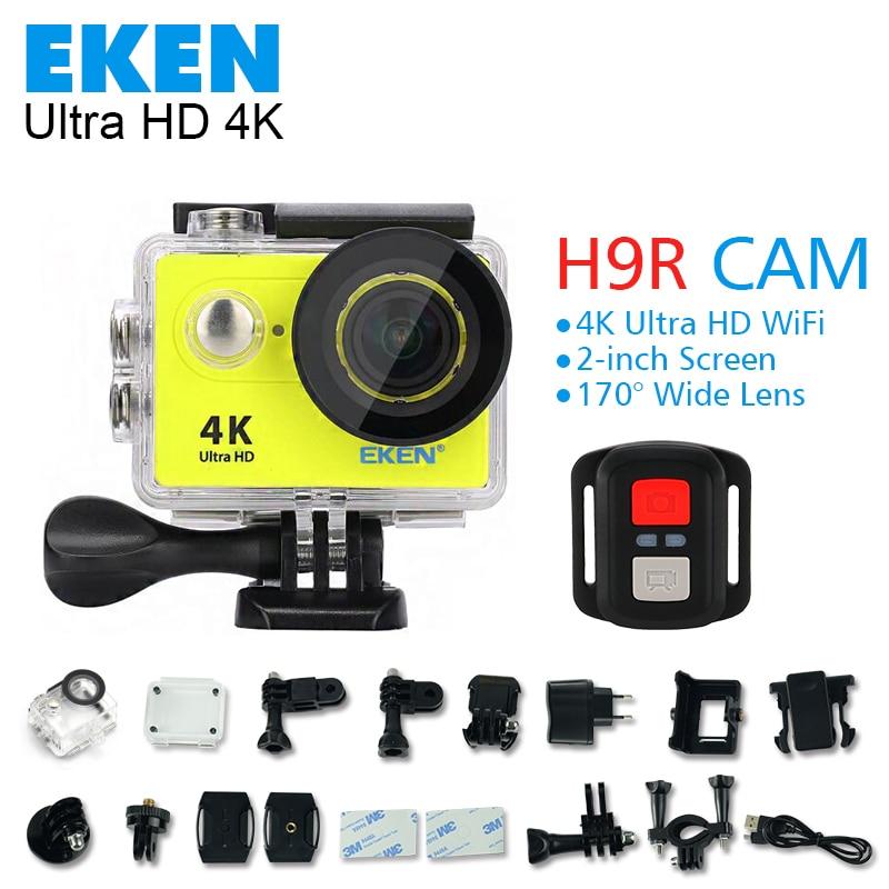 Original Eken H9 H9R action camera 4K wifi Ultra HD 1080p 60fps 170 Go waterproof mini