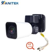 1080P AHD Bullet PTZ Camera 4X Zoom Full HD 2MP IMX323 Pan Tilt Rotate IP66 waterproof IR 50M AHD CVI TVI Analog CVBS 4in1 UTC