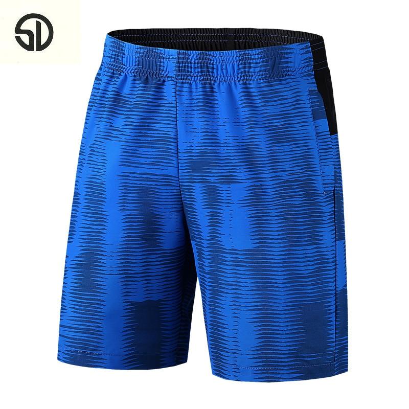 2018 New Casual Men Breathable Shorts Male Elastic Waist Beach Shorts Knee Length Bermuda Masculina Fashion Bermuda Dress Homme