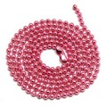 2.4mm pink color Dog Tag Chains Ball Bead Chain Ball Chains Necklaces Keychains,wholesale chains for jewelry supplies
