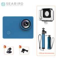 """Caméras vidéo d'action de Sports de la mer 4 K, 4 k/30FPS grand Angle de 145 degrés 12MP 2.0 """"caméra d'action de WiFi d'écran tactile de HD d'ips"""