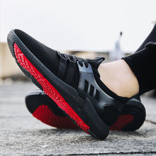2019 Spring New  Explosive Men's Shoes Classic Black Casual Sports Shoes Breathable Students Walking Men Shoes