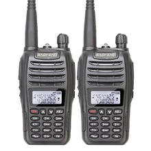 2PCS/Lot Dual Band 136-174MHz 400-480MHz BAOFENG Walkie Talkie Transceiver