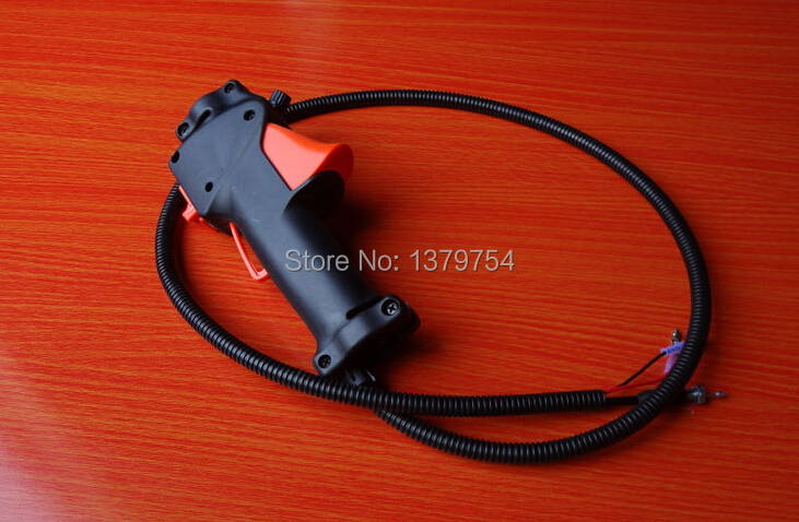 где купить  High quality 43cc 52cc  back pack brush cutter throttle , brush cutter parts, Grass cutter parts factory selling directly  по лучшей цене