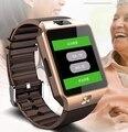 Monitor de freqüência cardíaca bluetooth smart watch smartwatch sos apoio cartão sim para ios sistema android smartphone da pressão arterial