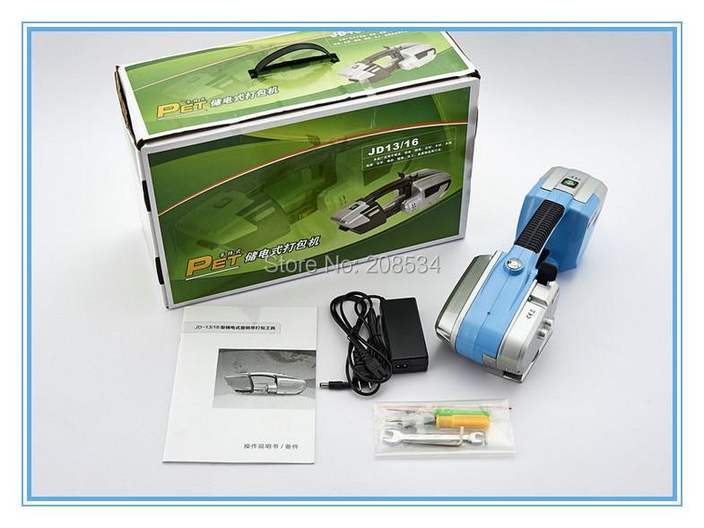 JD16 akumuliatoriaus surišimo įrankis plastikiniam PET PP - Įrankių komplektai - Nuotrauka 6