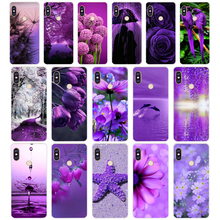 269H infinity on purple Soft Silicone Tpu Cover phone Case for