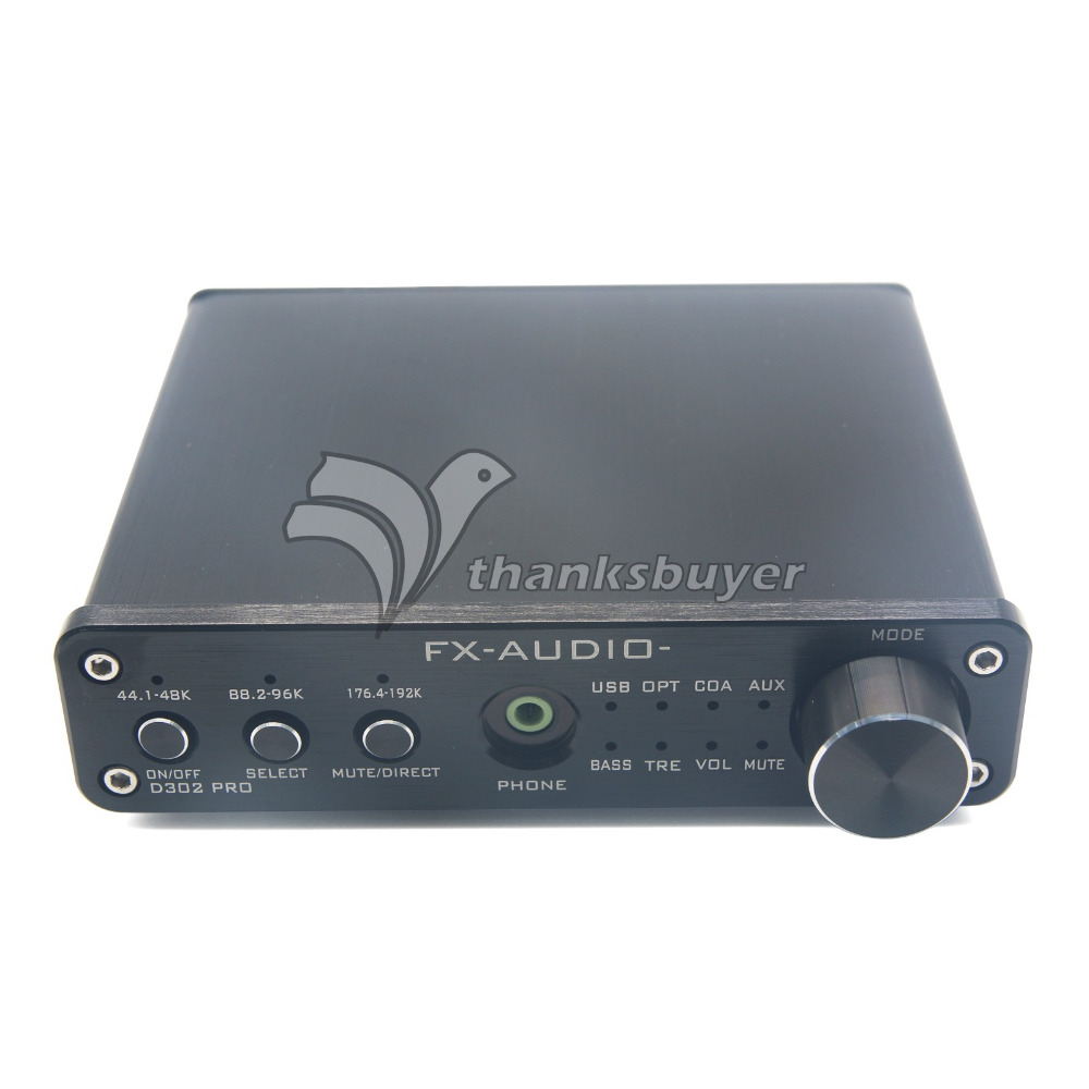 D302 Digital Amplifier 30W+30W 192k Coaxial Optical Fiber USB Sound Card Surpass TA2024 TA2021 Black (Amp Only) smal a6 hifi digital amplifier 50wx2 dac digital 110v 220v native dsd512 usb optical coaxial lp player cd analog input