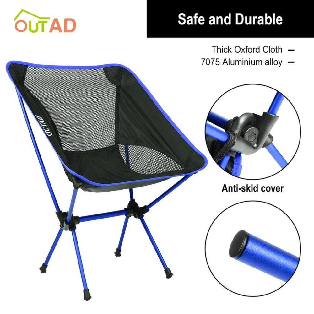 Newest Modern Ultralight Heavy Duty Folding Chair Seat For Outdoor Camping Fishing Picnic Beach Activities With BagNewest Modern Ultralight Heavy Duty Folding Chair Seat For Outdoor Camping Fishing Picnic Beach Activities With Bag