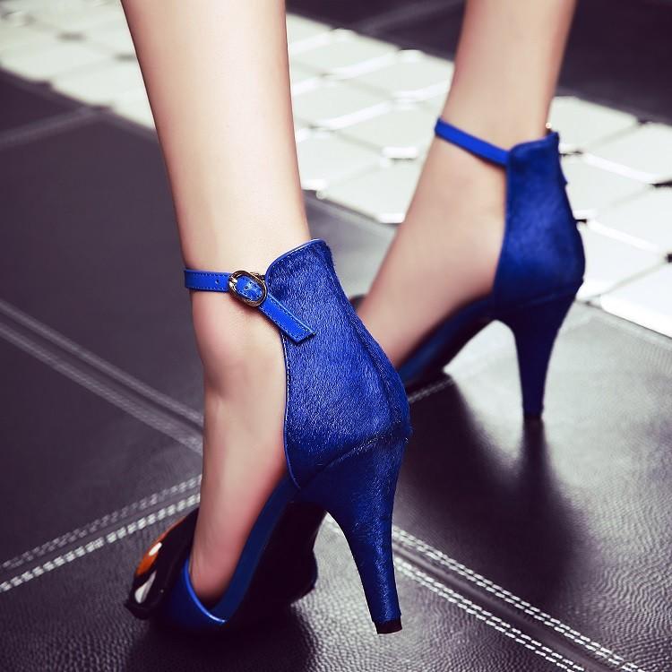 b8e4199439d3 New Novelty Pumps For Women Sandals on Platform Small size High Heel ...