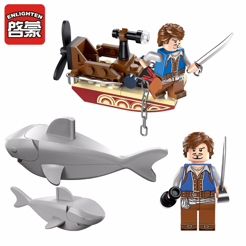 Lego Shark Toys For Boys : Popular lego pirate toys buy cheap lots
