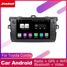 ZaiXi For Toyota Corolla (E140) Sedan 2006~2013 Car Android Multimedia System 2 DIN Auto DVD Player GPS Navi Navigation for 11 13 e140 toyota corolla s 10
