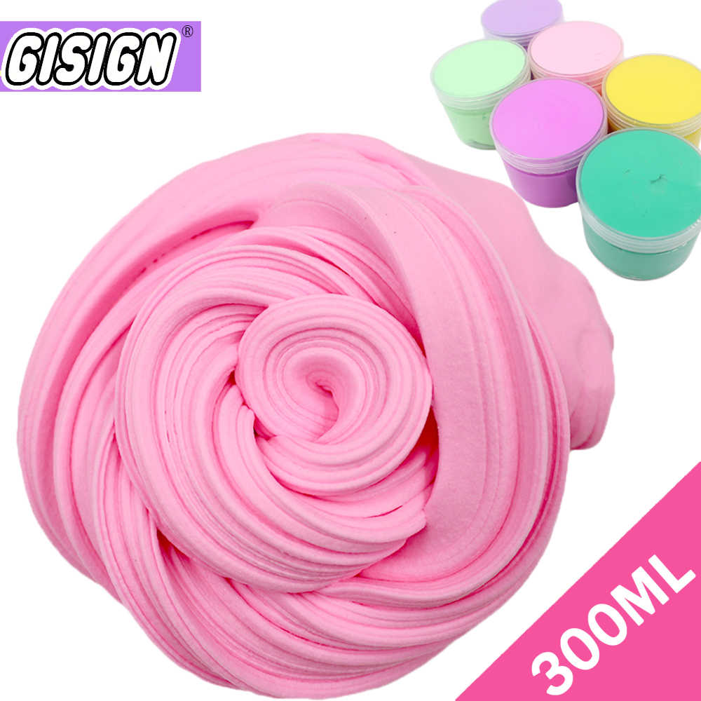 300ML Big Box Slime Butter Fluffy DIY Light Clay Toys Kit Floam Slime Antistress Kids Toy  Cotton Clay Toy Plasticine Supplies