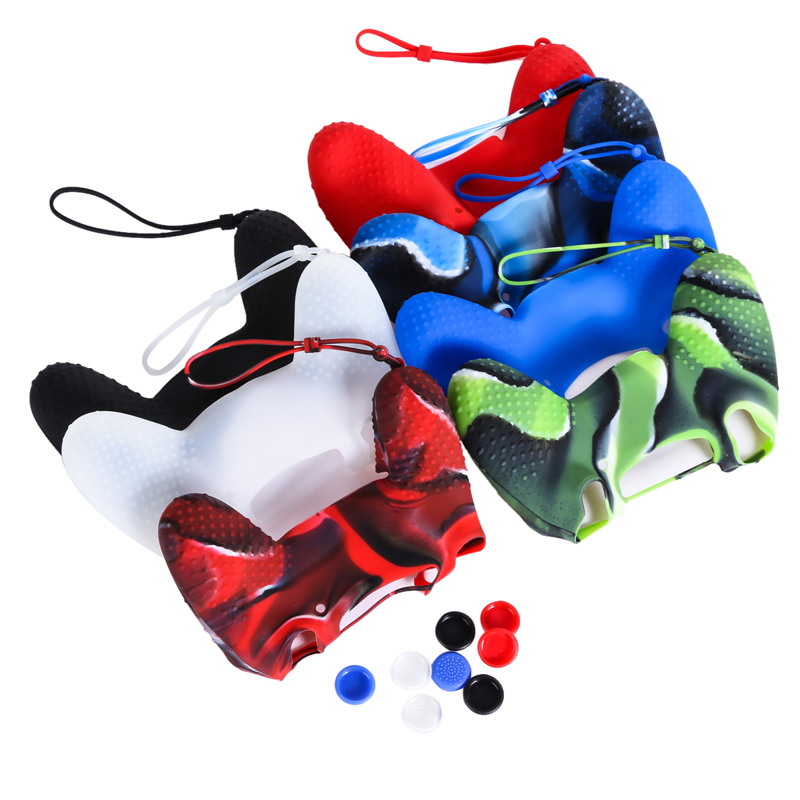 Top sale Silicone Cover Case Skin JoyStick Thump Grip Caps For Playstation PS4 Accessories Controller