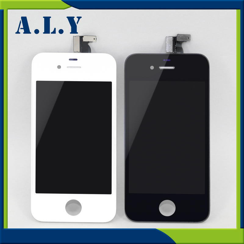 [sample] A+++ High Quality For iPhone 4 LCD Display LCD Touch Screen Digitizer Assembly for iPhone4 Replacement.Free DHL Ship non working fake dummy phone sample display model for iphone 5