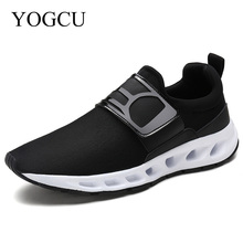 YOGCU Winter Running Shoes For Women Sneakers Men 2017 Men Sneakers Breathable Sport Shoes Krasovki Women Shoes Black Size 9.5