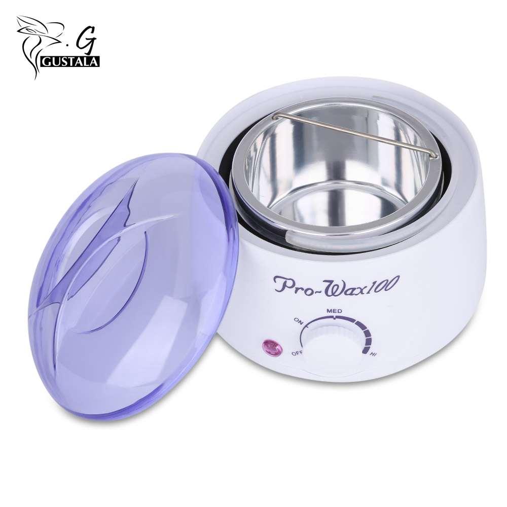 Pro calentador de cera Mini SPA mano depiladora pies de cera de parafina recargable calentador de parafina de pelo de la máquina depilatoria de atención de la salud