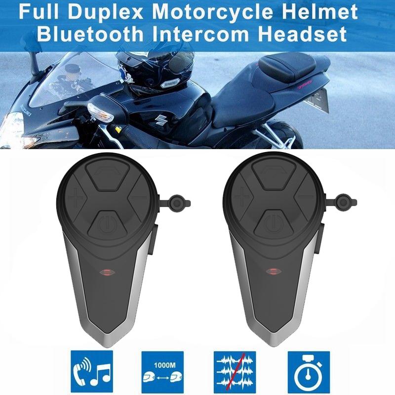 Sicherheit & Schutz Bt-s3 1000 M Motorrad Bt Sprech Motorrad Helm Drahtlose Bluetooth Intercom Fm Headset Tragbare Mini Sprech