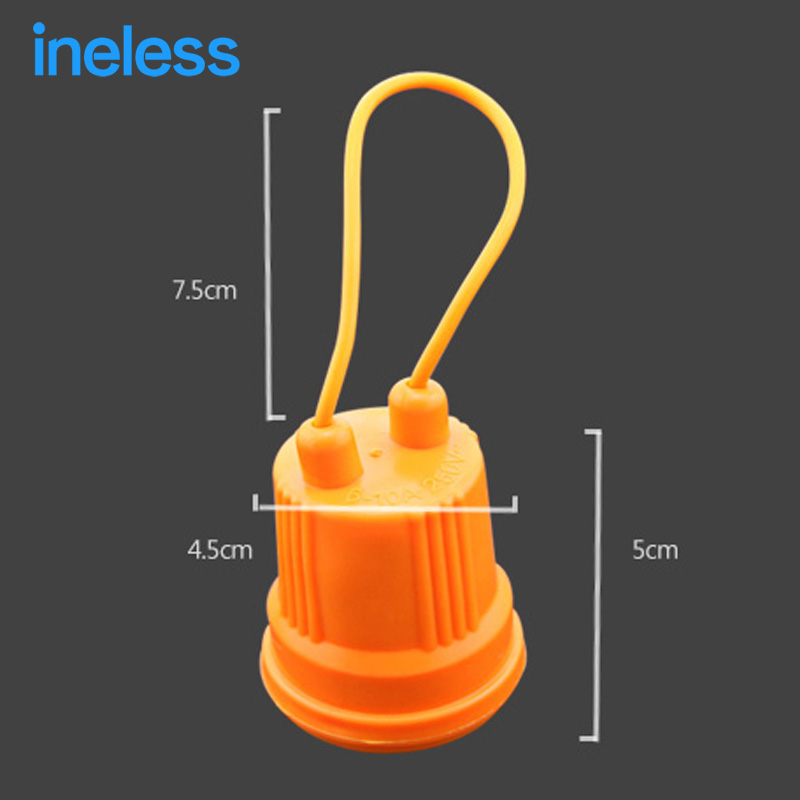 Explosion proof Waterproof E27 Rubber Lamp Holder E27 Lamp ...