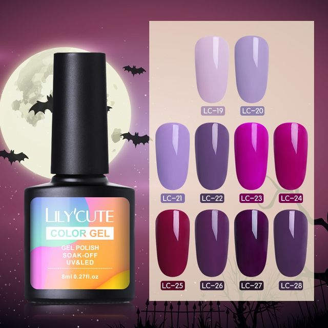 LILYCUTE 8ml Halloween UV Gel