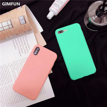 Colorful Candy Phone Cases iPhone 6 6s Plus 7 7 Plus 8 X