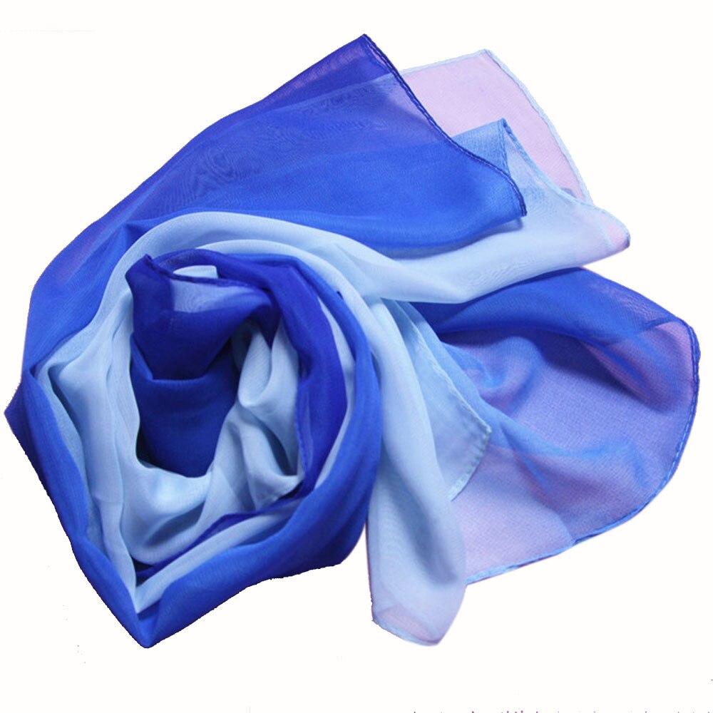 Fashion Lady Gradient Color Long   Wrap   Women's Shawl Chiffon   Scarf     Scarves   Printed Silk   Scarves     Wrap   Shawl   Scarves   Female Size