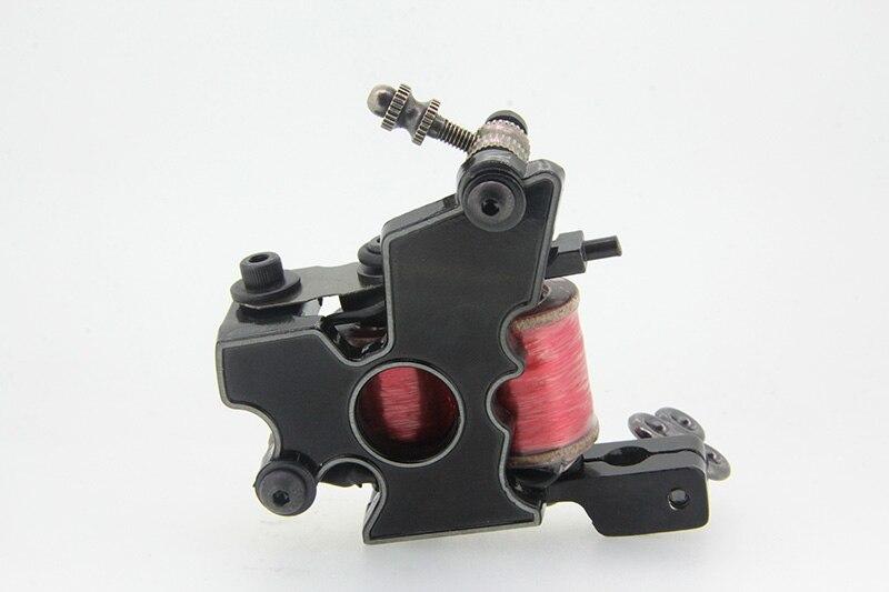 YILONG High Strength Stable Working Speed Black Pig Iron Coils High Rotating Speed Tattoo Machine Shader Guns Body Art