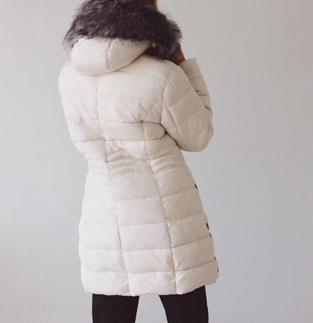 Mode rouge Veste Parkas Longue Rembourré Capuche bleu 2018 Coton Printemps bleu blanc Avec Automne Manteaux Pour De Royal Femmes Dames Noir px7Tq8BO