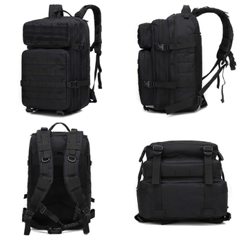 Tactical Backpack 1000D Military Men Women Army Bag Outdoor Waterproof 43L Bagpack Waterproof Travel Hiking Mochila Molle Bags 4