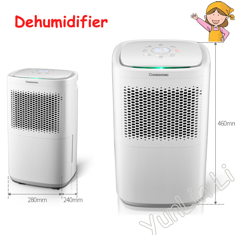 Home Bedroom Dehumidifier Mute High Power Dehumidifier Basement Air Dryer Machine Ch18 Y2cr2 In