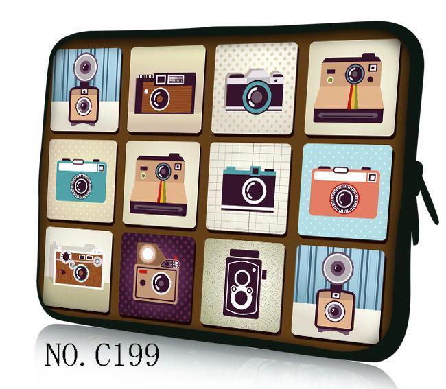 Chaude Caméras 11.6 12 13.3 14 15 15.6 Laptop Sleeve en néoprène Sacoche pour Ordinateur Portable Sac Pour Dell Inspiron/HP Ibm/Lenovo Thinkpad