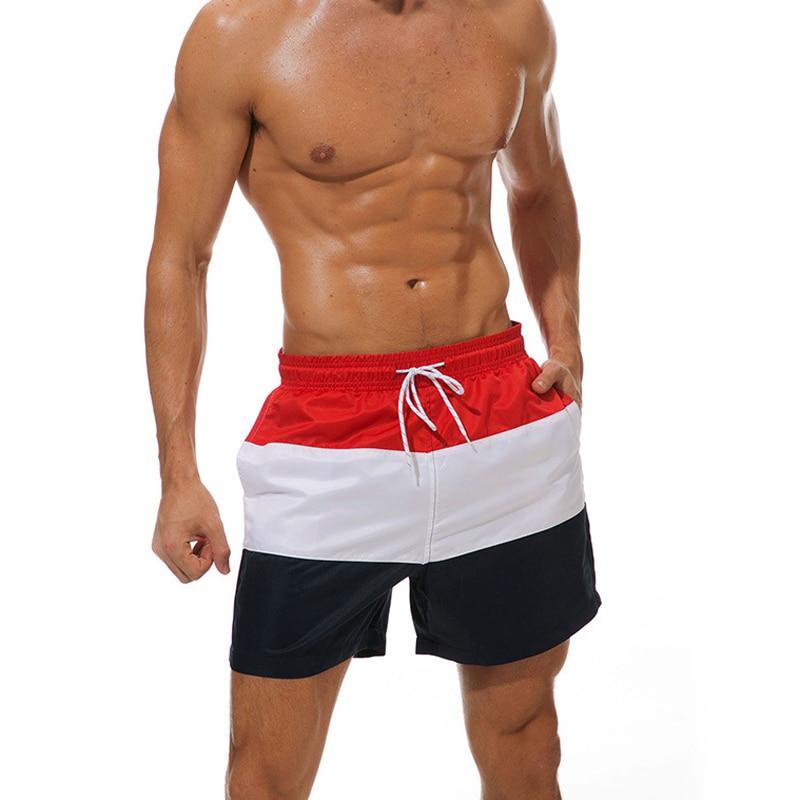Lining   board     shorts   mens swimming trunks waterproof beach surf swimwear quick dry running   short   masculino praia male swimsuits