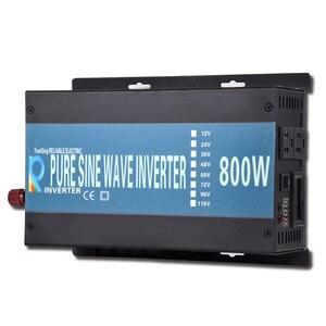 800 Вт Чистая Синусоидальная волна, инвертор, контроллер батареи, светодиодный дисплей, автономное зарядное устройство, Автомобильная солне...