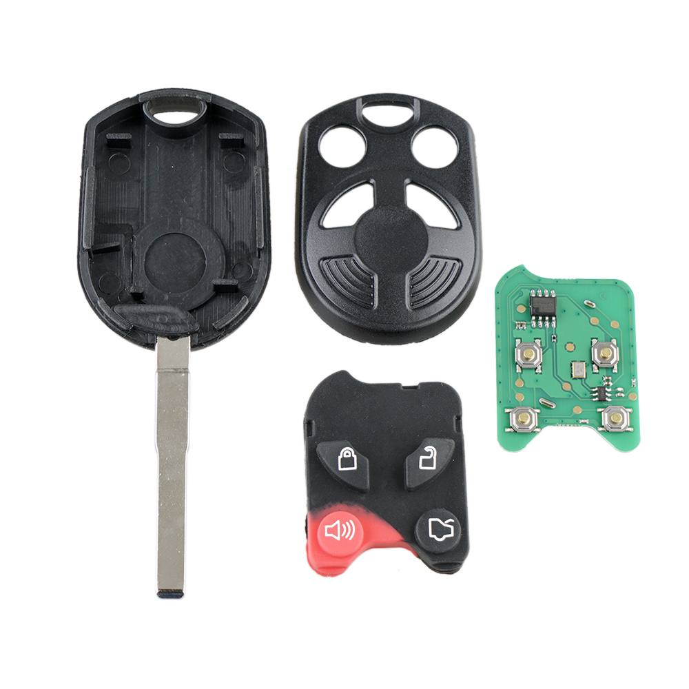 Image 5 - Yetaha 4 Buttons Remote Smart Key For Ford C Max Escape Focus Fiesta Transit Connect OUCD6000022 315MHz Remtekey With Chip-in Car Key from Automobiles & Motorcycles