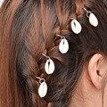 2017 New Fashion Women 1Set/5PC Shell Hair Clip Hair Accessories for women girls Headpiece