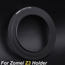 Zomei 67mm 72mm 77mm 82mm Adapter Ring für Zomei Z3 Platz Filter Metall Halter