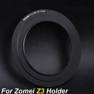 Image 1 - Zomei 67mm 72mm 77mm 82mm anillo adaptador para Zomei Z3 filtro cuadrado soporte de Metal