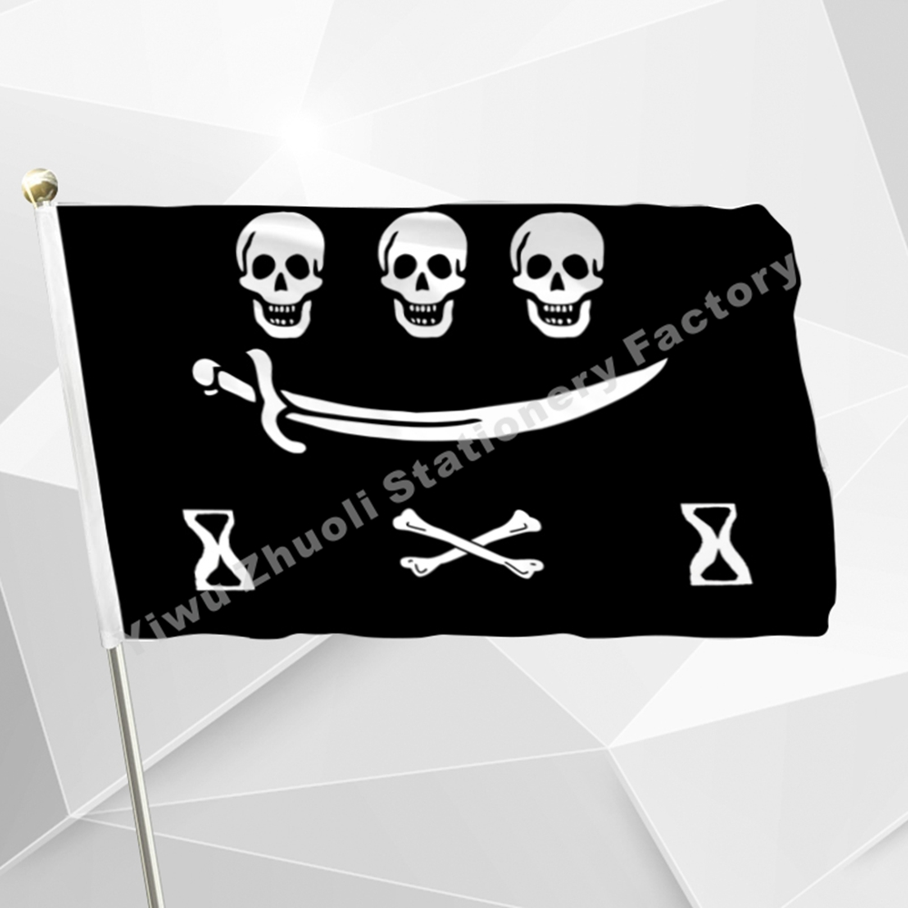 More than 20 pirate flags Large Skull Headband Crossbones Pirates Flag Jolly Roger Roger ...