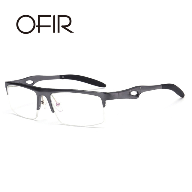 OFIR Medio Sin Montura lentes de cristal Gafas de Lectura de estilo ...