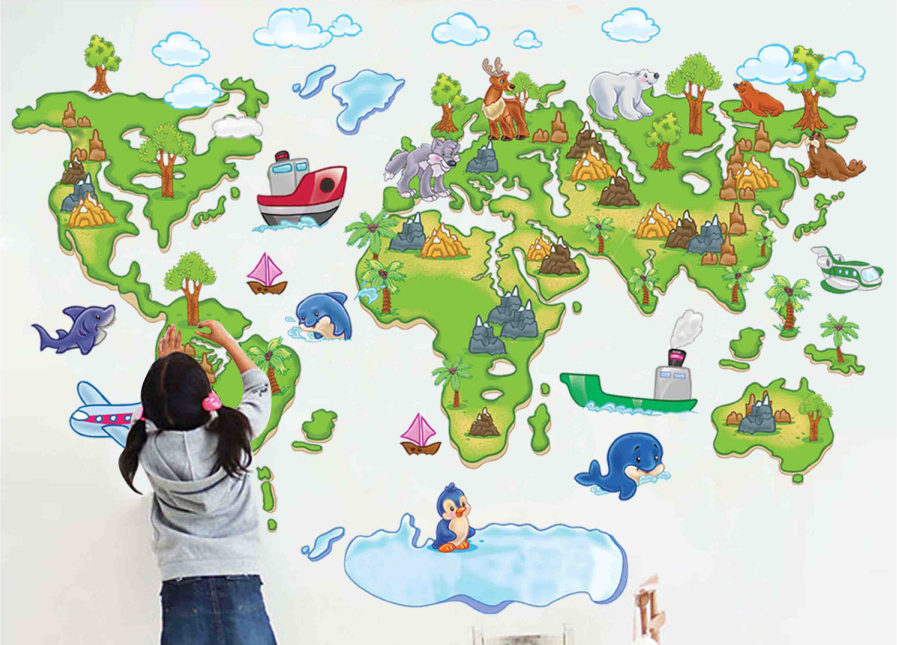 stickers for kids bedroom Picture - More Detailed Picture about ...