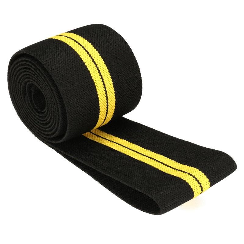 200 times; 8センチ体重リフティング弾性膝包帯脚圧縮ふくらはぎサポートラップスポーツ