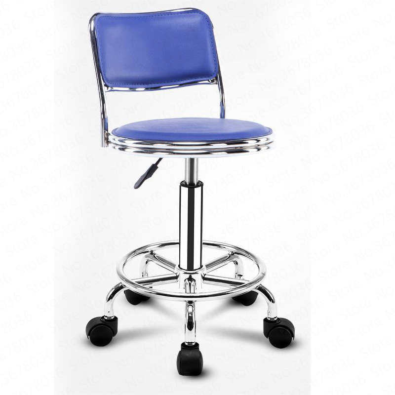 New European Bar Stool Bar Chair Beauty Chair Back Stool Rotating Lift Bar Stool High Stool Fashion Bar Chair