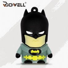 Hot sale Avengers Cartoon Super hero usb flash drive Batman/Superman Pen drive Memory Stick 4GB 8GB 16GB 32GB 64GB pendrive(China)