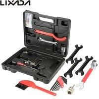 Lixada Professional Universal Home Outdoor Multi function Purpose Bike Bicycle Repair Tool Kit Set