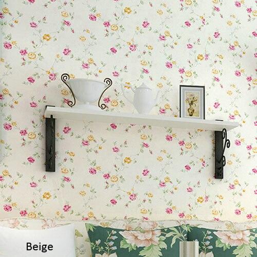 Kids Bedroom Texture papel de parede floral 3d texture infantil kids bedroom living